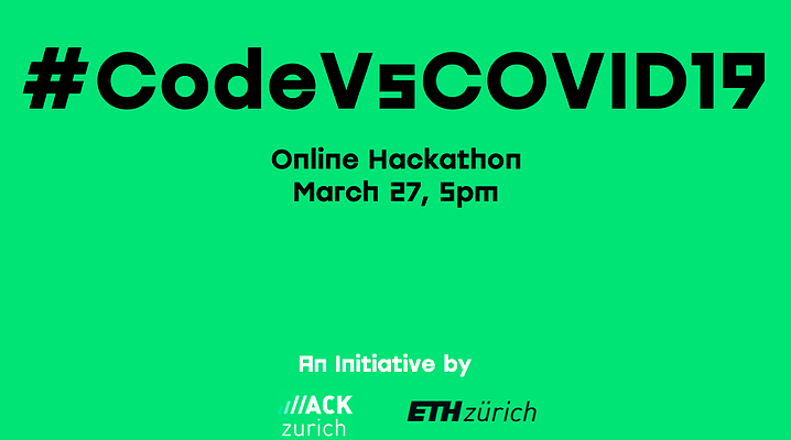 Hacking Covid-19: #CodeVsCOVID19
